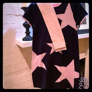 🆕 Isaac Mizrahi ⭐️Sparkly Star Sweater & leggings